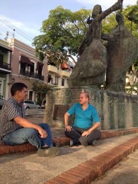Conversación con  Amílcar Cintrón Aguilú. (Suministrada)