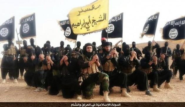 Combatientes del Estado Islámico en un video de propaganda realizado en 2014 en la provincia iraquí de Anbar.