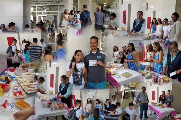Oasis de Amor es una iniciativa que le ofrece alimentos gratis a cualquier estudiante de la institución. (Suministrada)