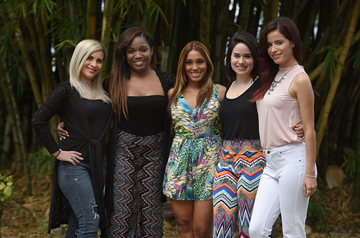 Kenia Ojeda, Cecil Maldonado Villanueva, Kathia Dieppa, Graciela Rivera y Elizabeth C. Rodriguez