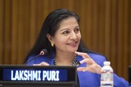 Lakshmi Puri. (IPS)