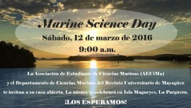 Marine Science Day 2016 (Suministrada)