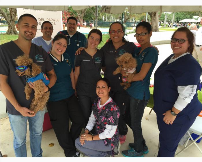 Tecnologos Veterinarios en el Parque Luis Munoz Marin