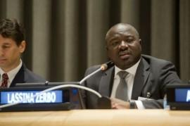 Lassina Zerbo, secretario ejecutivo de la Organización del Tratado de Prohibición Completa de los Ensayos Nucleares (CTBTO). Crédito: Evan Schneider/ONU