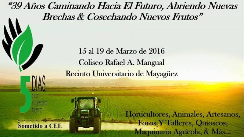 Feria Agrícola Educativa Cinco Días Con Nuestra Tierra