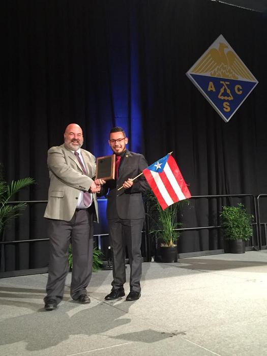 ACS-presidente. premio
