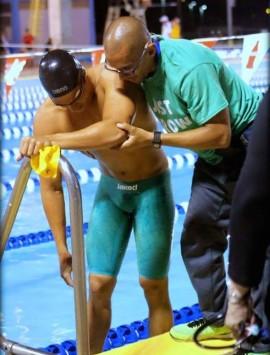 Alfredo Texidor lleva 15 años trabajando para las Juanas y los Tarzanes del Colegio como terapeuta atlético. (Fernando Neris Suministrada)