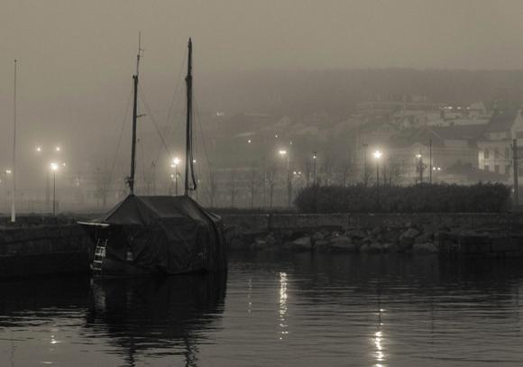 Un barco en el mar. (Flickr)