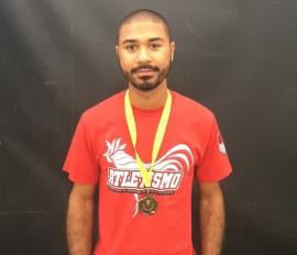 Joshua García, atleta de la UPRRP. (José Encarnación/ Diálogo)