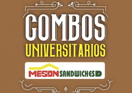 Promoción de Combos Universitarios.