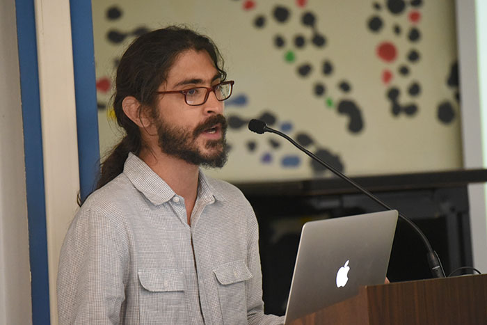 Joel Cintrón Arbasetti, periodista del Centro de Periodismo Investigativo. (Ricardo Alcaraz/ Diálogo)