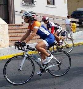 María Vargas, ciclista. (Suministrada)