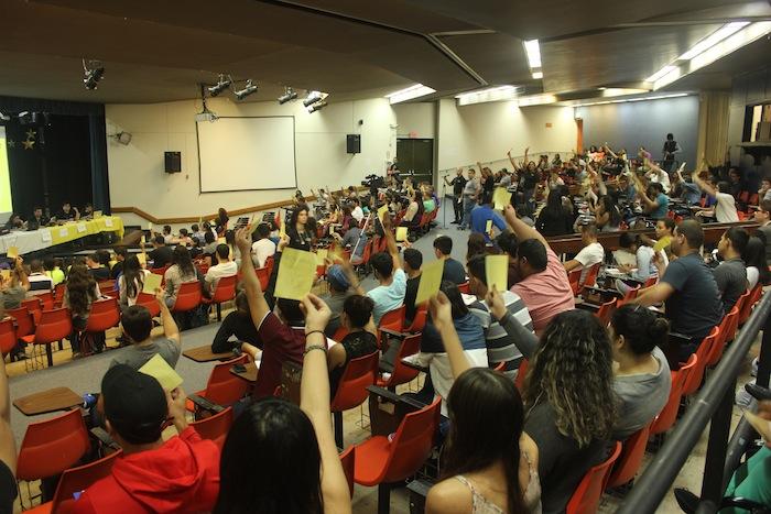 Asamblea UPRA. (Rosaura Jiménez/ Diálogo)
