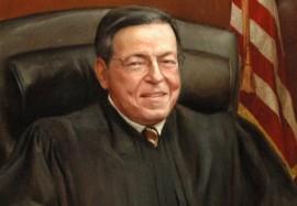 Foto oficial del juez federal Juan Pérez Giménez (1979 al presente). (http://www.prd.uscourts.gov)