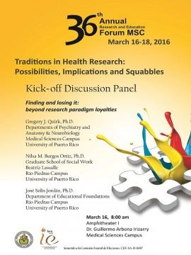 Poster Panel 1 foro investigacion