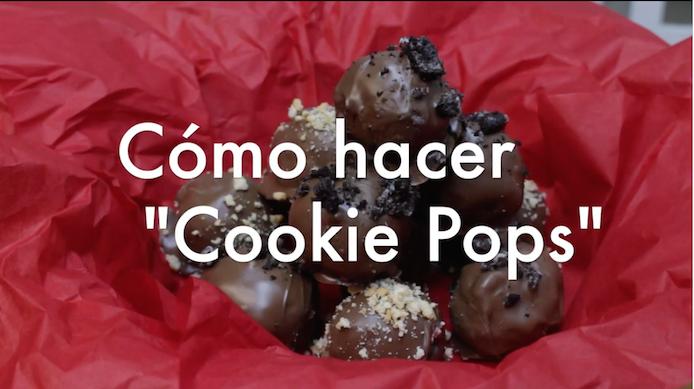 """Nuestra periodista Michelle Estades te enseña a cómo preparar """"Coockie Pops"""". (Suministrada)"""