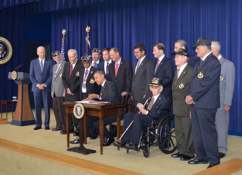 Los Borinqueneers recibirán el galardón luego del proyecto de ley que firmara el presidente Barack Obama en el 2014. (Suministrada)
