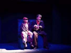 Obra Ana, el mago y el aprendiz en La Beckett. (Suministrada)