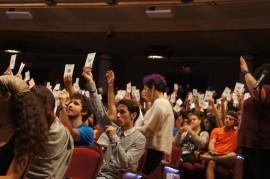 Asamble de estudiantes en la UPRRP. (Cherish González/ Diálogo)