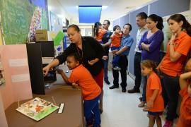 Actividad en el preescolar de la UPR. (Ricardo Alcaraz/ Diálogo)