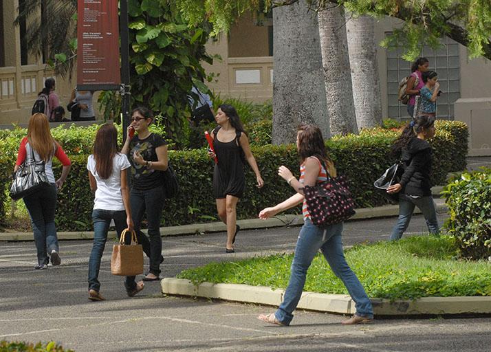 La UPR ha registrado 18,019 solicitudes de admisión y concedido 13,402. (Ricardo Alcaraz / Diálogo)