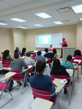 Los alumnos conversaron sobre la variedad de proyectos que los participantes de AIESEC pueden realizar durante las seis semanas que dura el internado. (Suministrada)