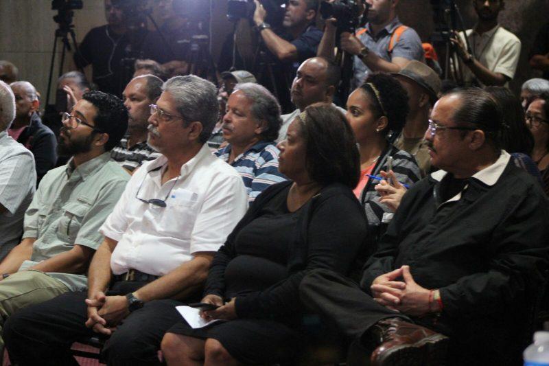 Líderes comunitarios que participaron del foro. (Deborah Rodríguez/ Diálogo UPR)