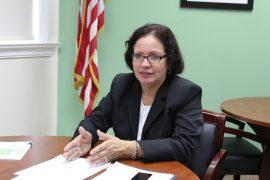 Myrna Comas Pagán, secretaria del Departamento de Agricultura. (Deborah Rodríguez / Diálogo)