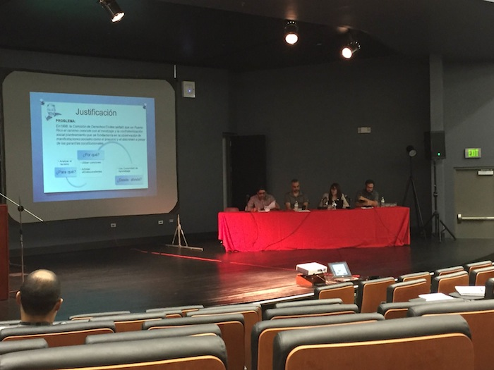 Simposio de reguetón en la UPRRP. (Michelle Estades/ Diálogo)