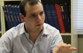 Christian Arvelo, represantante estudiantil. (Michelle Estades/ Diálogo)