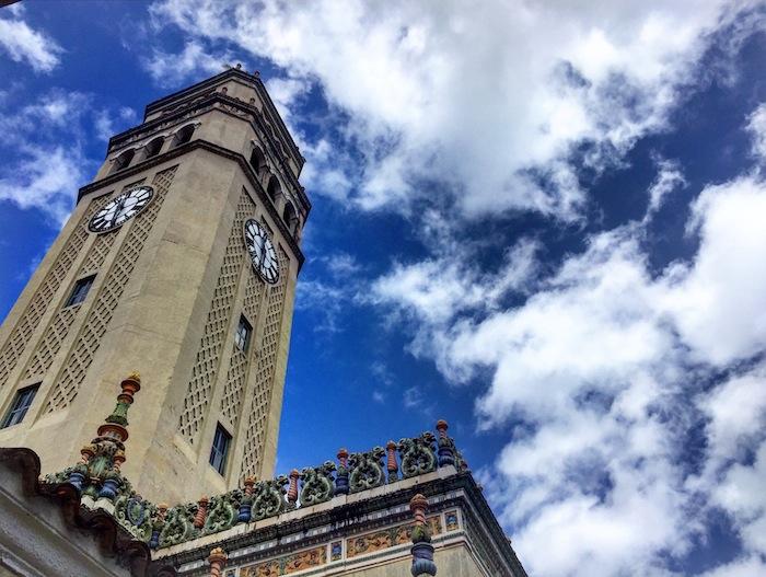 Torre del Recinto de Río Piedras de la UPR.  (Adriana De Jesús Salamán/ Diálogo)