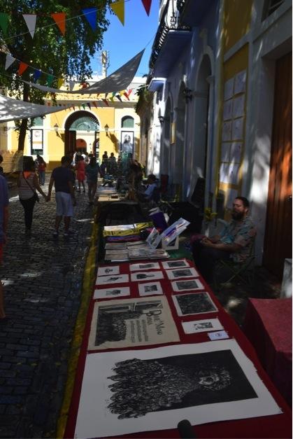 Mercadillo en el Viejo San Juan. (Suministrada)