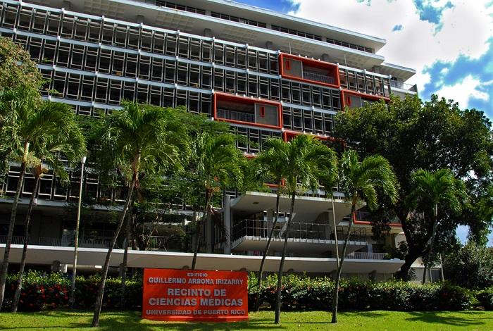 Edificio principal del Recinto de Ciencias Médicas. (Suministrada)