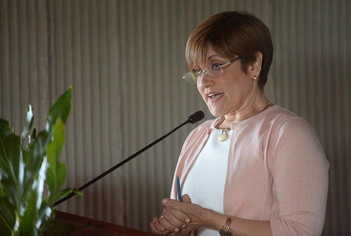 Bábara Segarra Vázquez, decana de la EPS, la doctora Bárbara Segarra Vázquez, narró las cuatro décadas de historia de la escuela.(Ricardo Alcaraz/Diálogo)