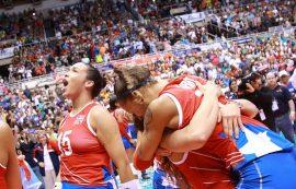 Celebración de Puerto Rico. (FIVB)