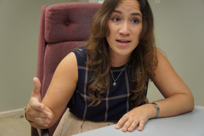 Licenciada Carolyn Guzmán, procuradora de estudiantes del Recinto de Río Piedras. (Adriana De Jesús Salamán)