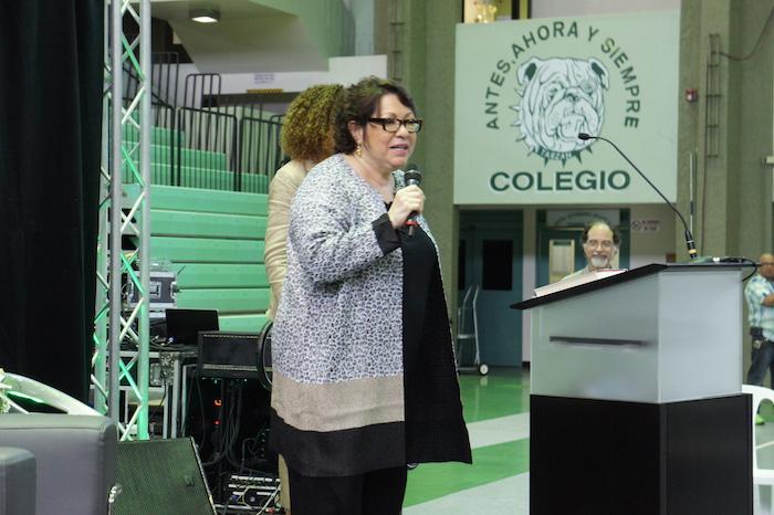 La jueza Sonia Sotomayor alentó a los jóvenes a perseguir sus sueños y a no desanimarse frente a la crisis que atraviesa el País. (Cristian Arroyo/Diálogo)