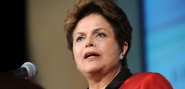 Ha sido una fuerte semana para Dilmaa Rousseff. (Suministrada)