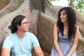 Gustavo Vega y Camila Rivera. (Suministrada)