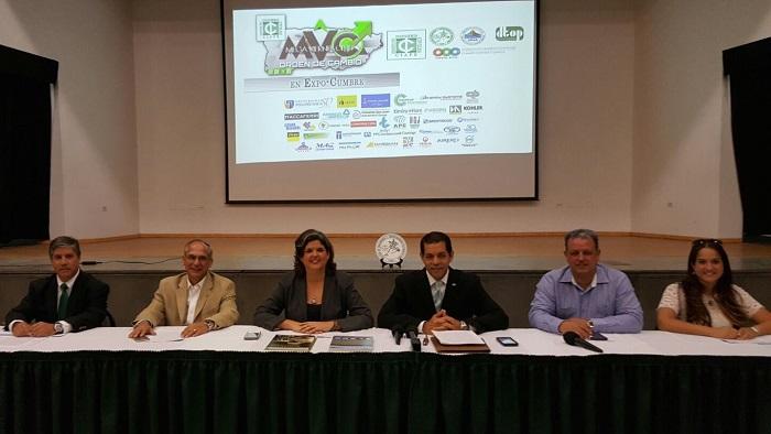 De izquierda a derecha: Néstor I. Hernández, Ralph Kreil Rivera, Carmen R. Guerrero Pérez, Miguel A. Torres Díaz, Ernesto Díaz y Libby J. Goyco. (Suministrada)