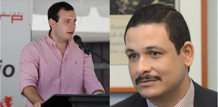 Christian Arvelo Forteza, representante estudiantil ante la Junta de Gobierno de la UPR, y Uroyoán Walker Ramos, presidente de la institución. (Fotomontaje)