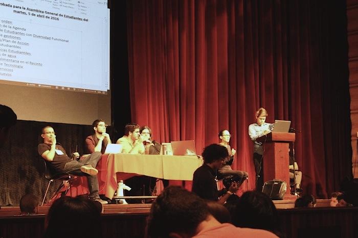 Asamblea General de Estudiantes de la UPRRP. (Cherish González/ Diálogo)