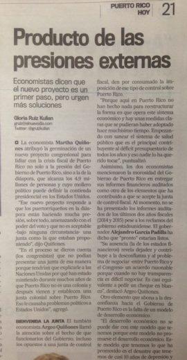 Nota de El nuevo día. (Glorimar Velázquez/ Diálogo)