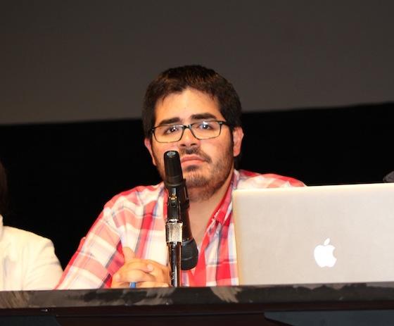 Guillermo Guasp Pérez, presidente del Consejo General de Estudiantes del Recinto de Río Piedras. (Glorimar Velázquez / Diálogo)