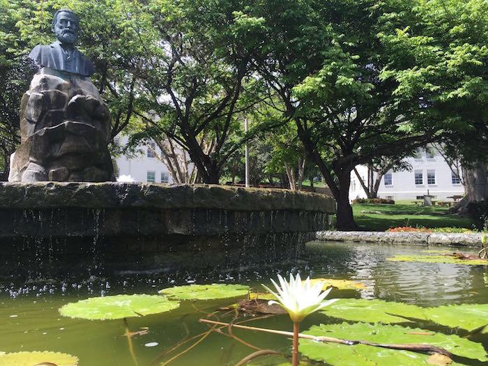 La Plaza Agustín Stahl en la UPR-Cayey. (Suministrada)