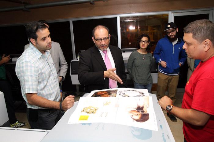 Visita Hera Printing – Estudiantes UPR Carolina (Suministrada)