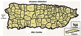 Mapa de Puerto Rico. (Suministrada)