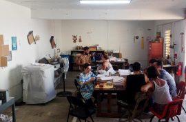 foto 2_Reunion de La Practica en La Impresora Proyecto de Nicole Delgado