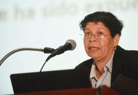 María Medina, catedrática de la Facultad de Educación del Recinto de Río Piedras. (Ricardo Alcaraz / Diálogo)