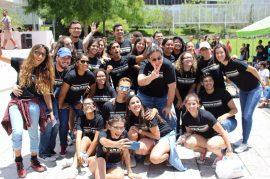 Estudiantes en #ToritosPorEcuador. (Suministrada)